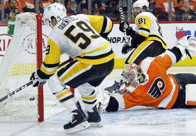 Pens' march rolls on