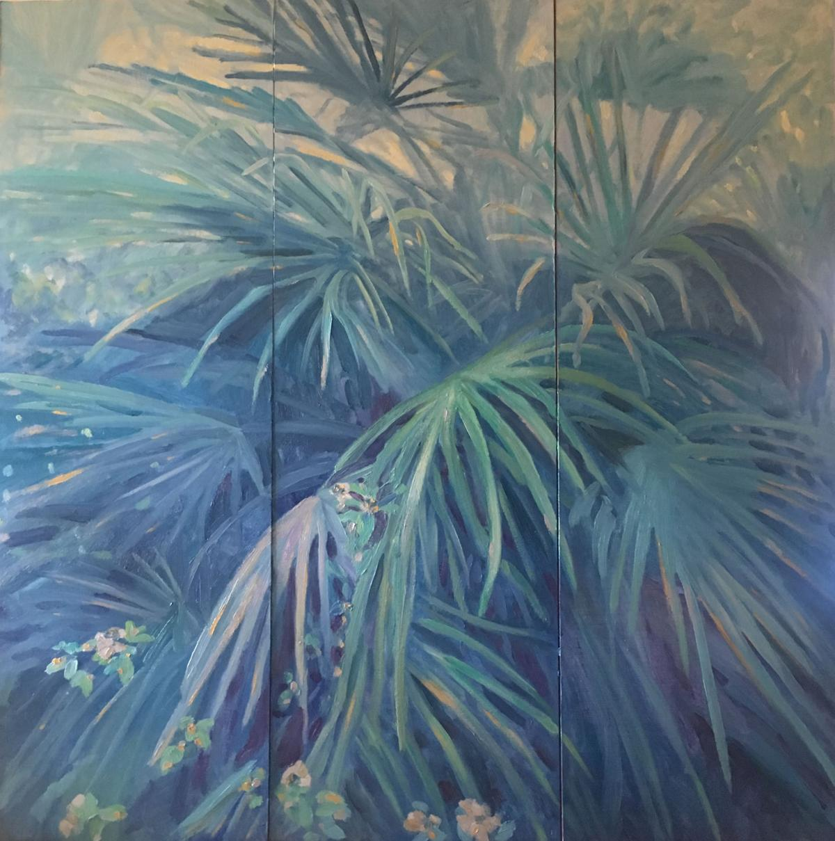 Mediteranian fan palm