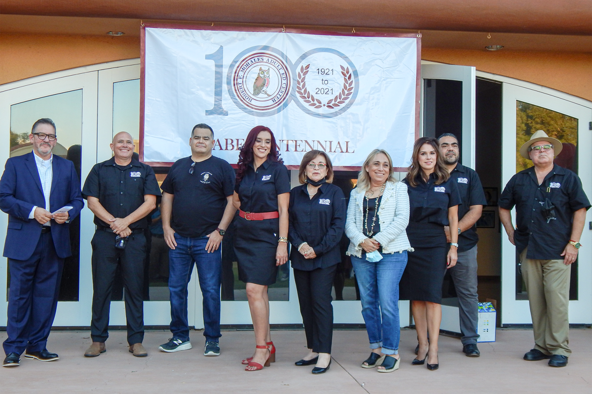 Robert F. Morales Adult Education Center staff