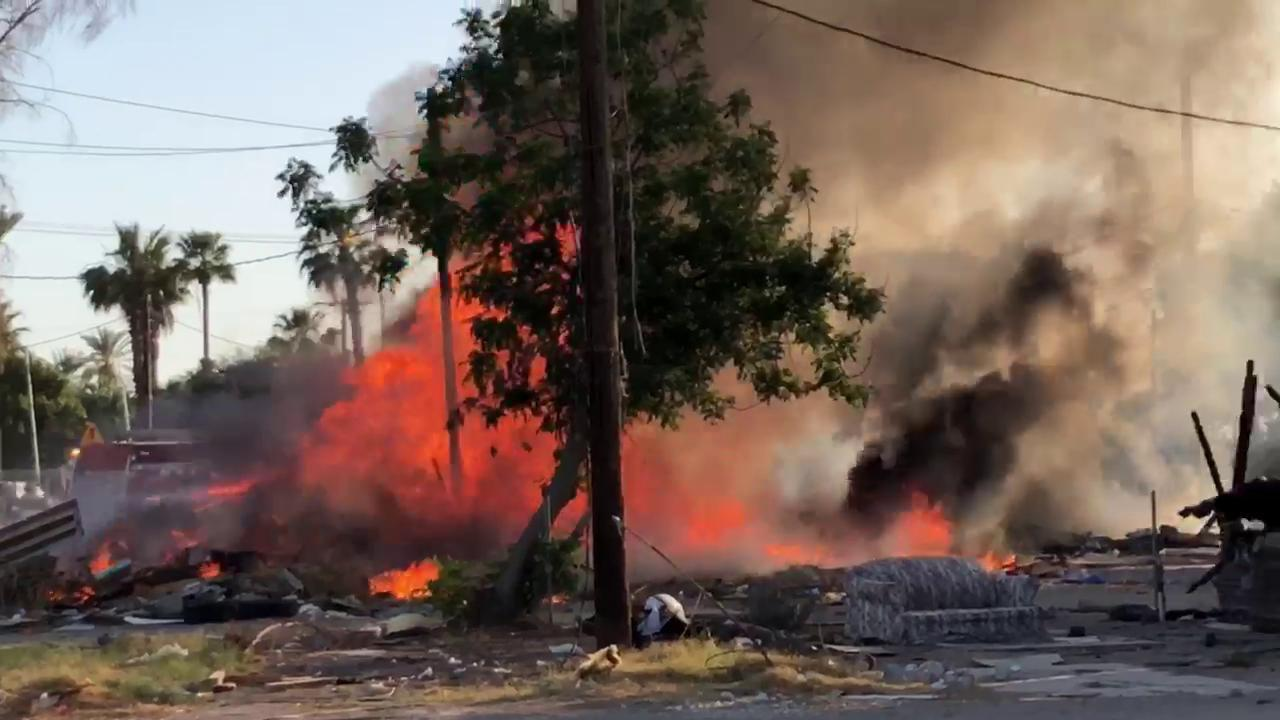 Brawley Mobile Home Park Fire Quickly Extinguished