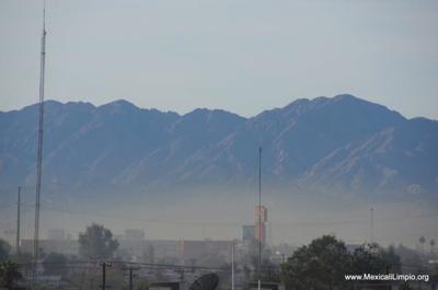 Mexicali smog