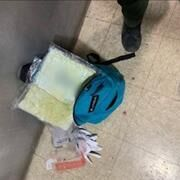Yuma Sector Border Patrol agents arrest a passenger smuggling fentanyl on a shuttle van