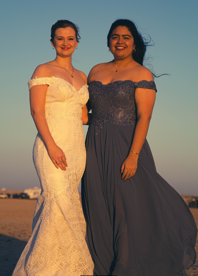Laura and Kayla