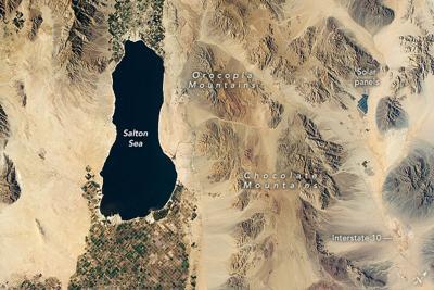 Salton Sea Nasa