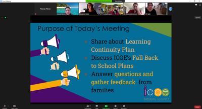 ICOE Parent Meeting 1
