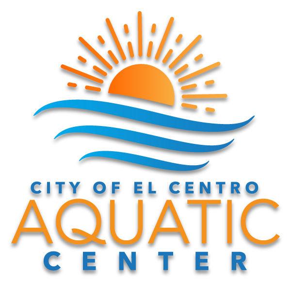 The official logo of El Centro Aquatic Center