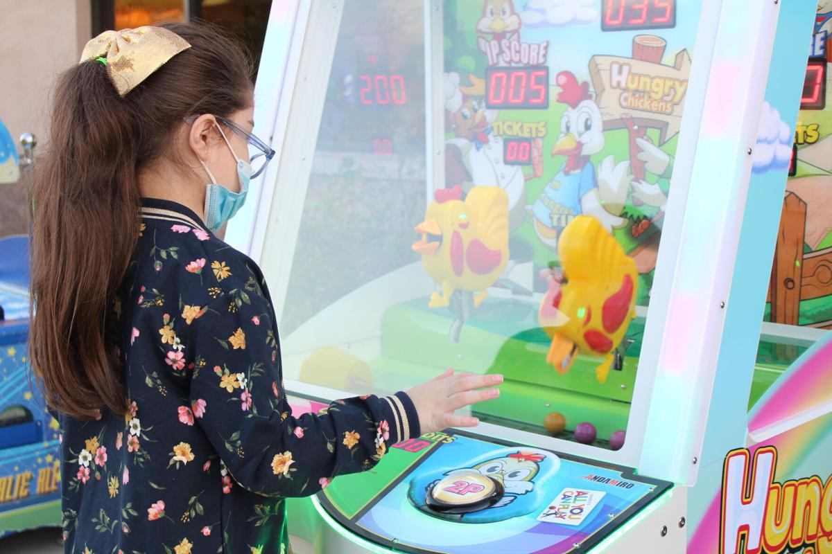 Chuck E. Cheese brings arcade gaming outside