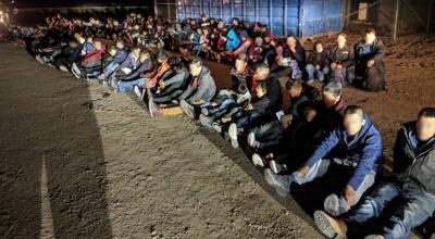 illegal aliens apprehended in Yuma, Ariz