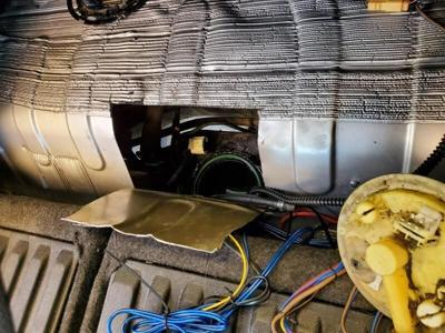 Border Patrol agents discover meth in gas tank