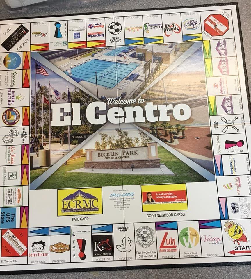El Centro-Opoly board game_2