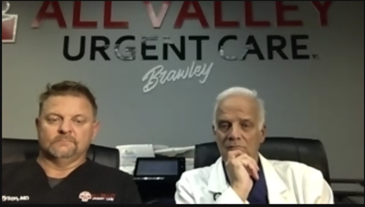 Dr. Brian Tyson and Dr. George Fareed