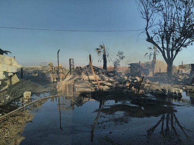 Desert Shores Trailer Park fire_2