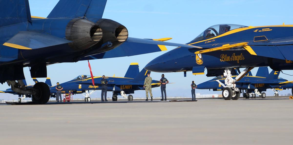 1a41f526d6b Navy s Blue Angels return to Valley for winter training