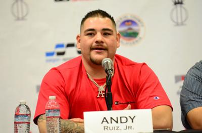 Andy Ruiz 2019 Press Conference Imperial
