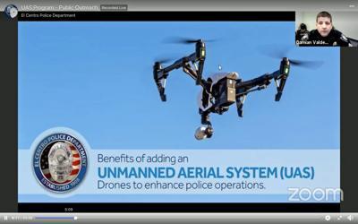El Centro Police Dept--Unmanned Aerial System UAS