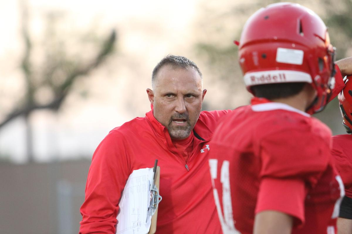 Imperial High Football--David Shaw, Football Head Coach