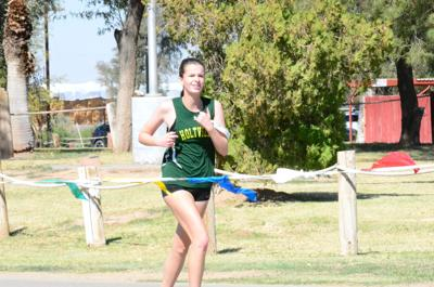 Holtville girls cross country 2021