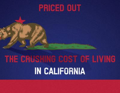 high cost of living California