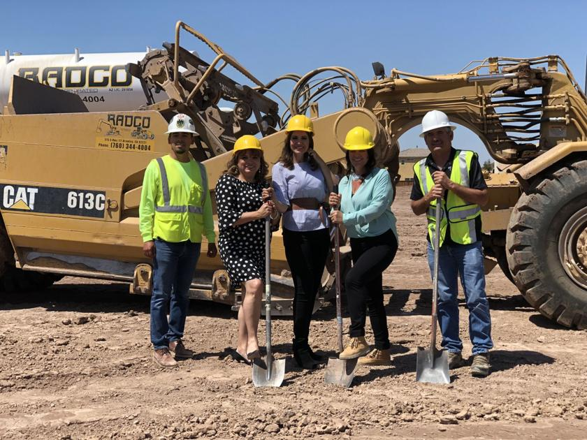 Victoria Ranch Breaks Ground For New Homes In Imperial Business Thedesertreview