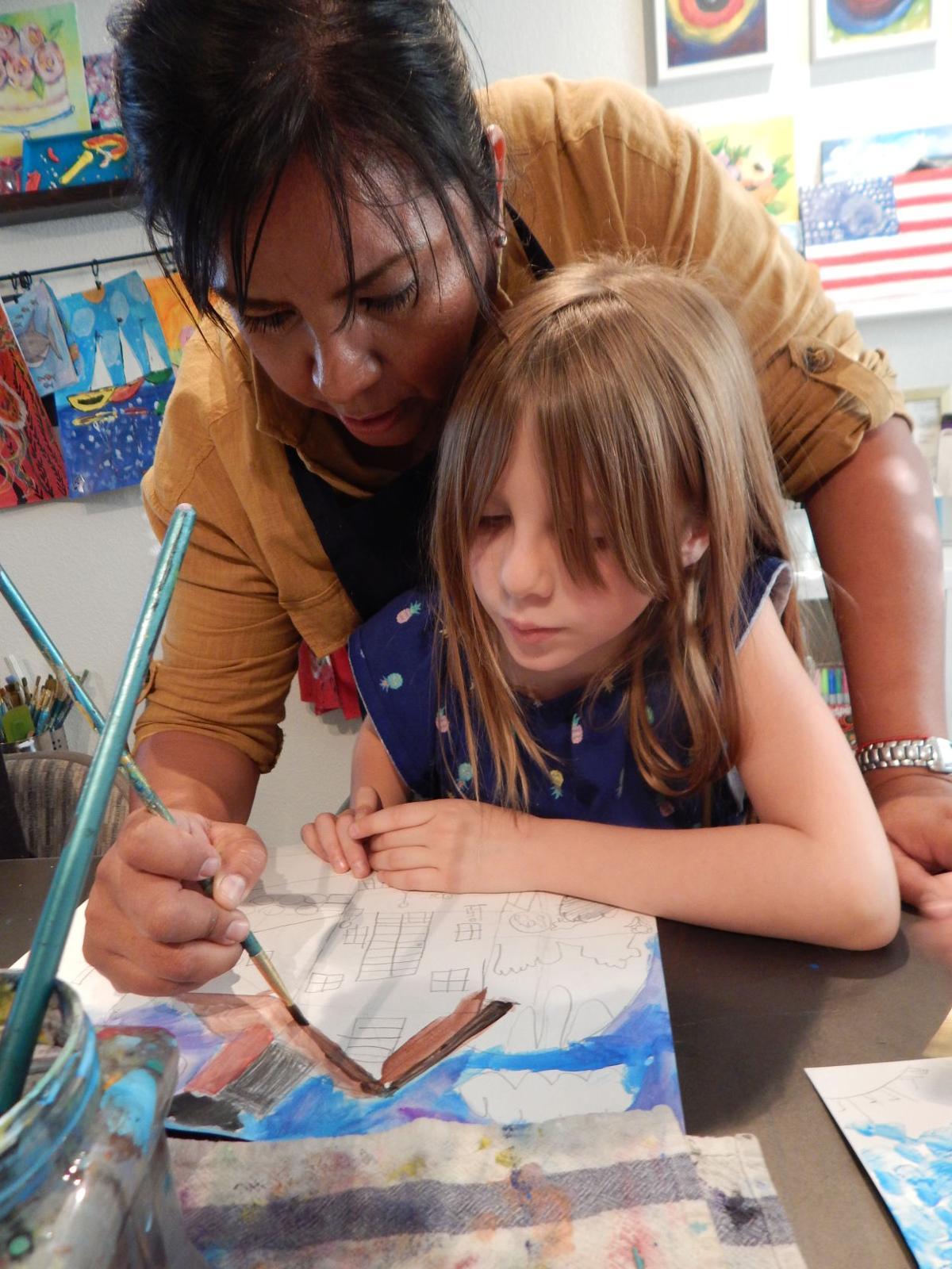 Mercy Aldrete Art with Kid.s