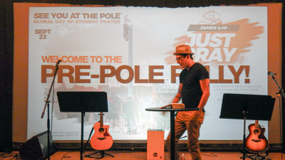 See You at the Pole Pre-Rally brings teens together from around the Valley