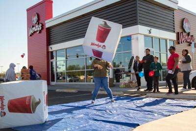 Wendy's Grand Opening