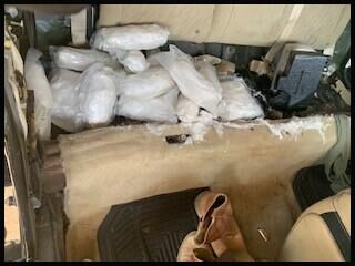 Yuma sector canine team arrests permanent resident for smuggling 47 pounds of meth