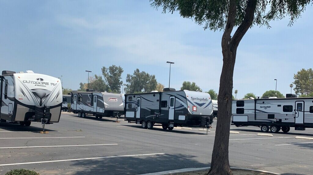 Niland fire travel trailers 1