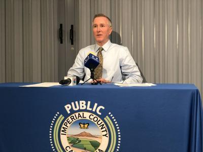 Stephen Munday speaks at public health department