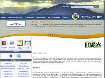 county website