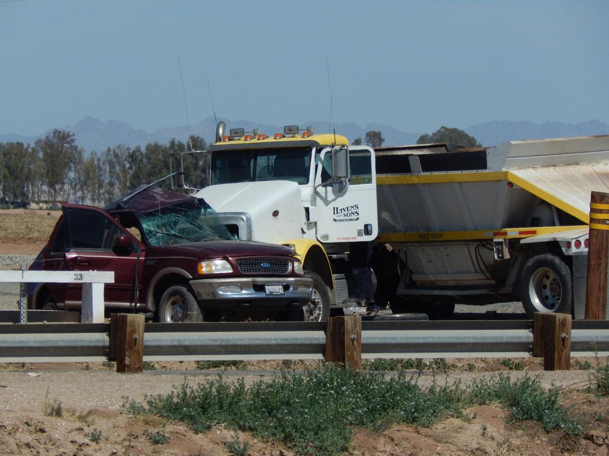 Big rig collides with SUV_1
