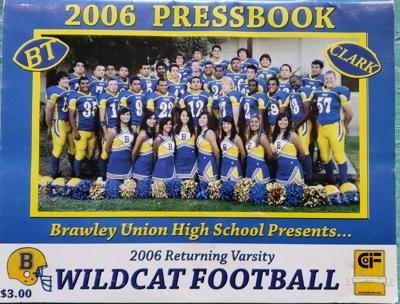 2006 Wildcat Football Press book