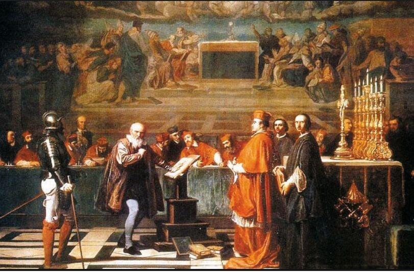 The Catholic Church's trial of Galileo