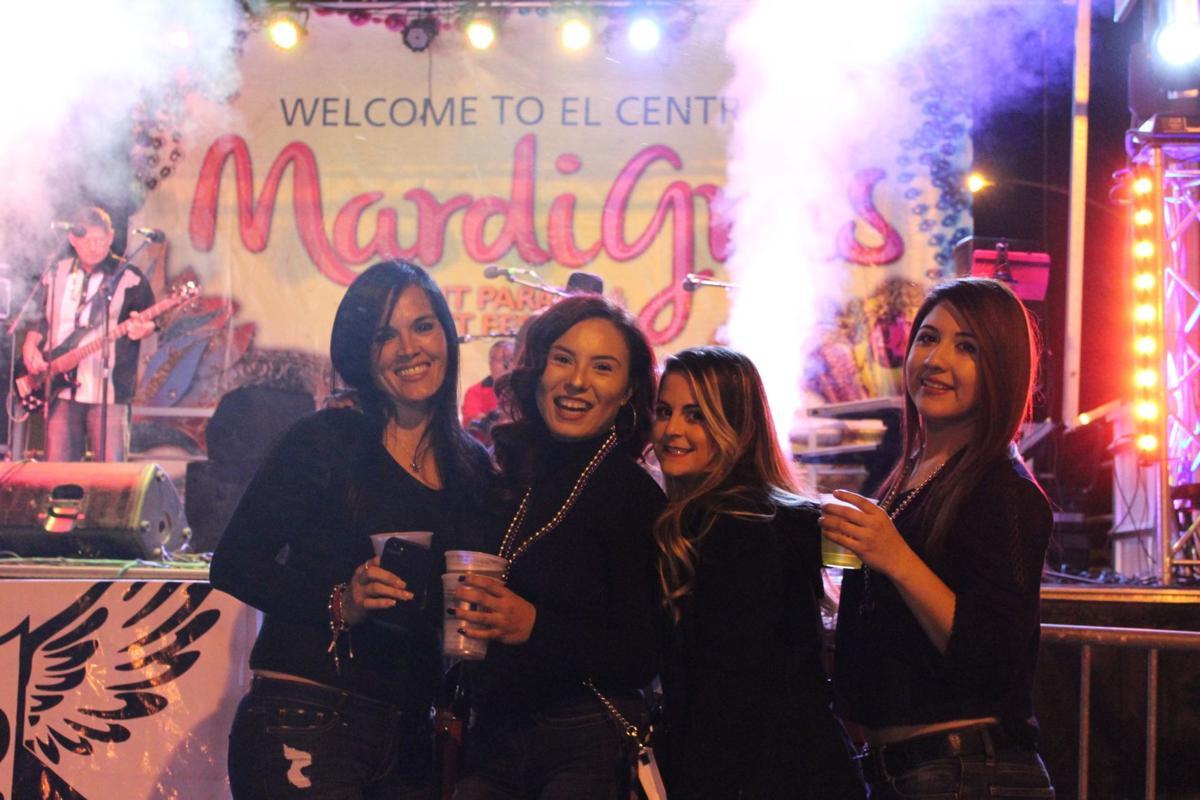 Mardi Good Times at El Centro's light parade and street festival