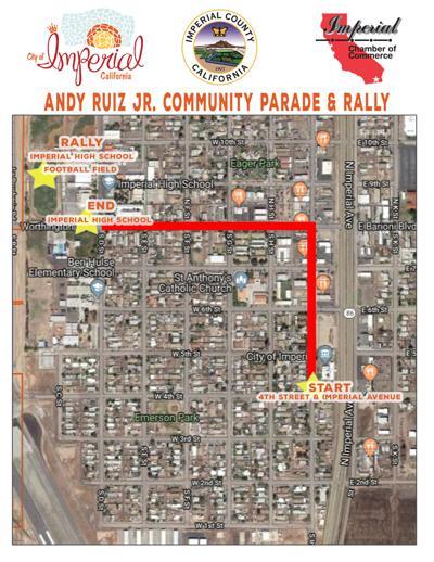Andy Ruiz parade route