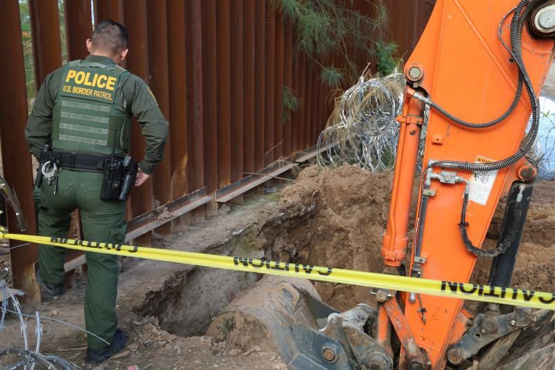 Border Patrol in Yuma sector discover cross-border tunnel