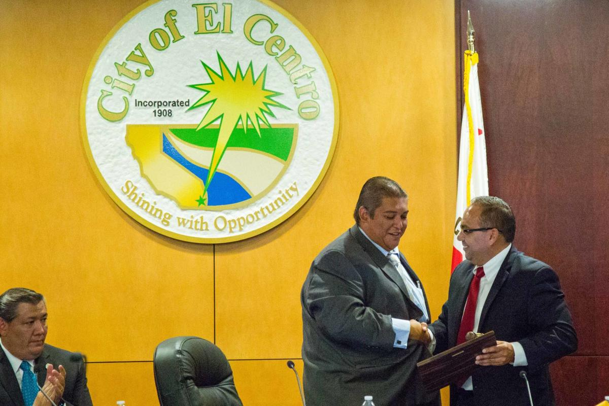 El Centro City Council Reorganization