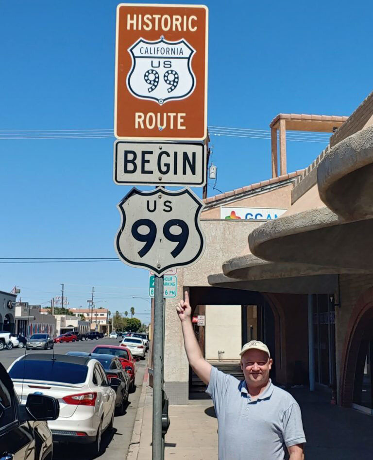 U.S. Route 99 Sign