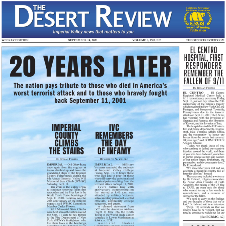 The Desert Review Vol. 8 Issue 2
