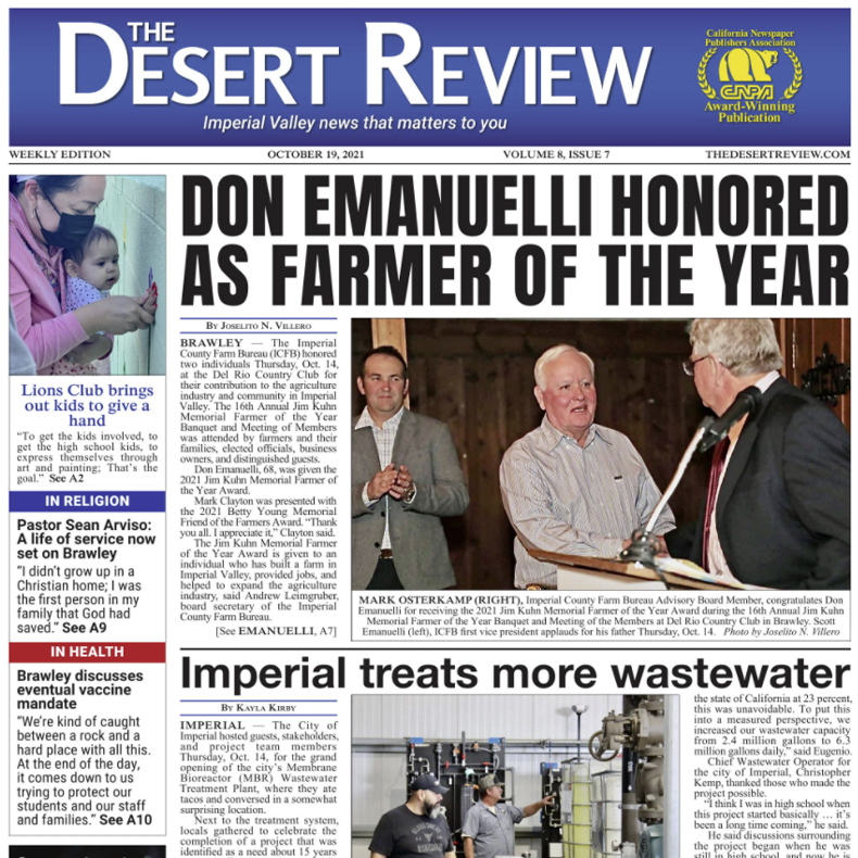 The Desert Review Vol. 8 Issue 7