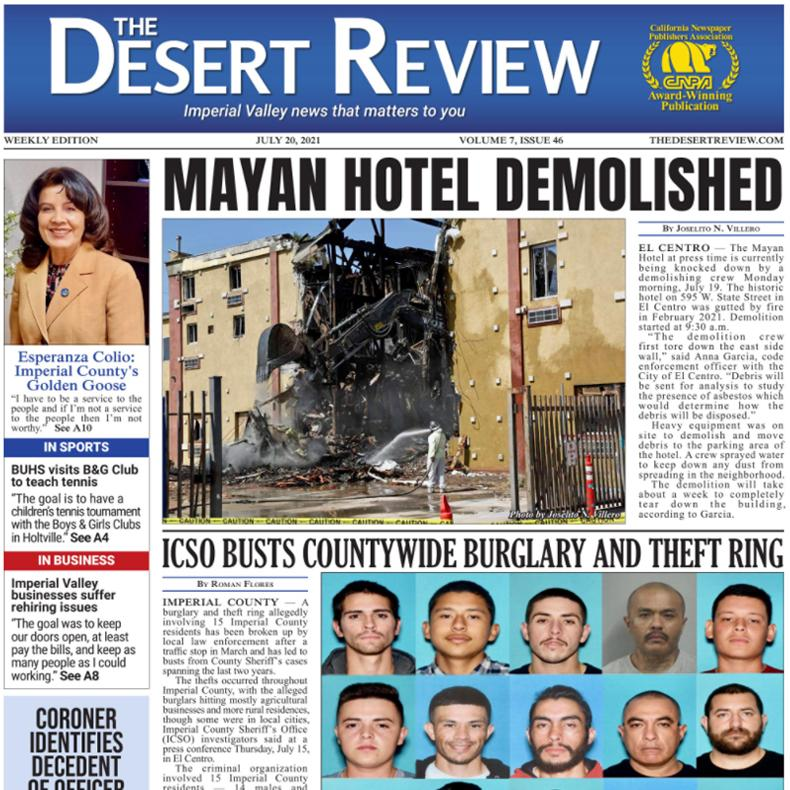 The Desert Review Vol. 7 Issue 46