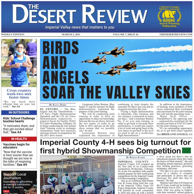 The Desert Review Vol. 7 Issue 26