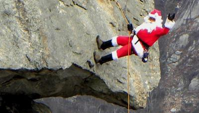 Chimney Rock Santa