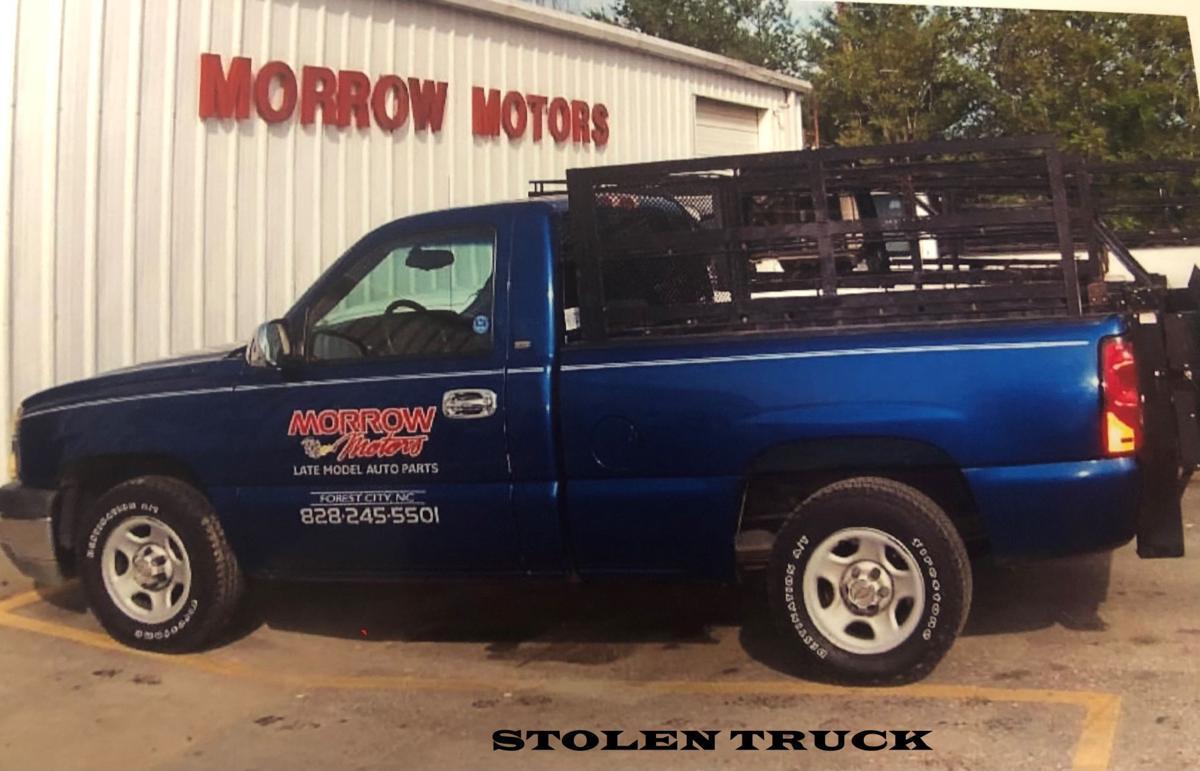 Stolen Truck