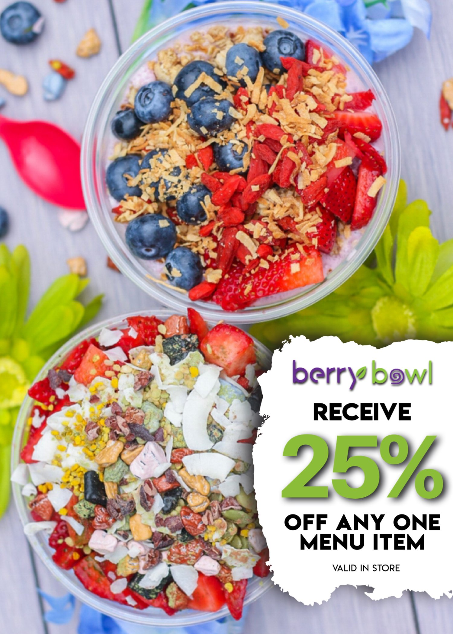 25 off berry bowl special new version