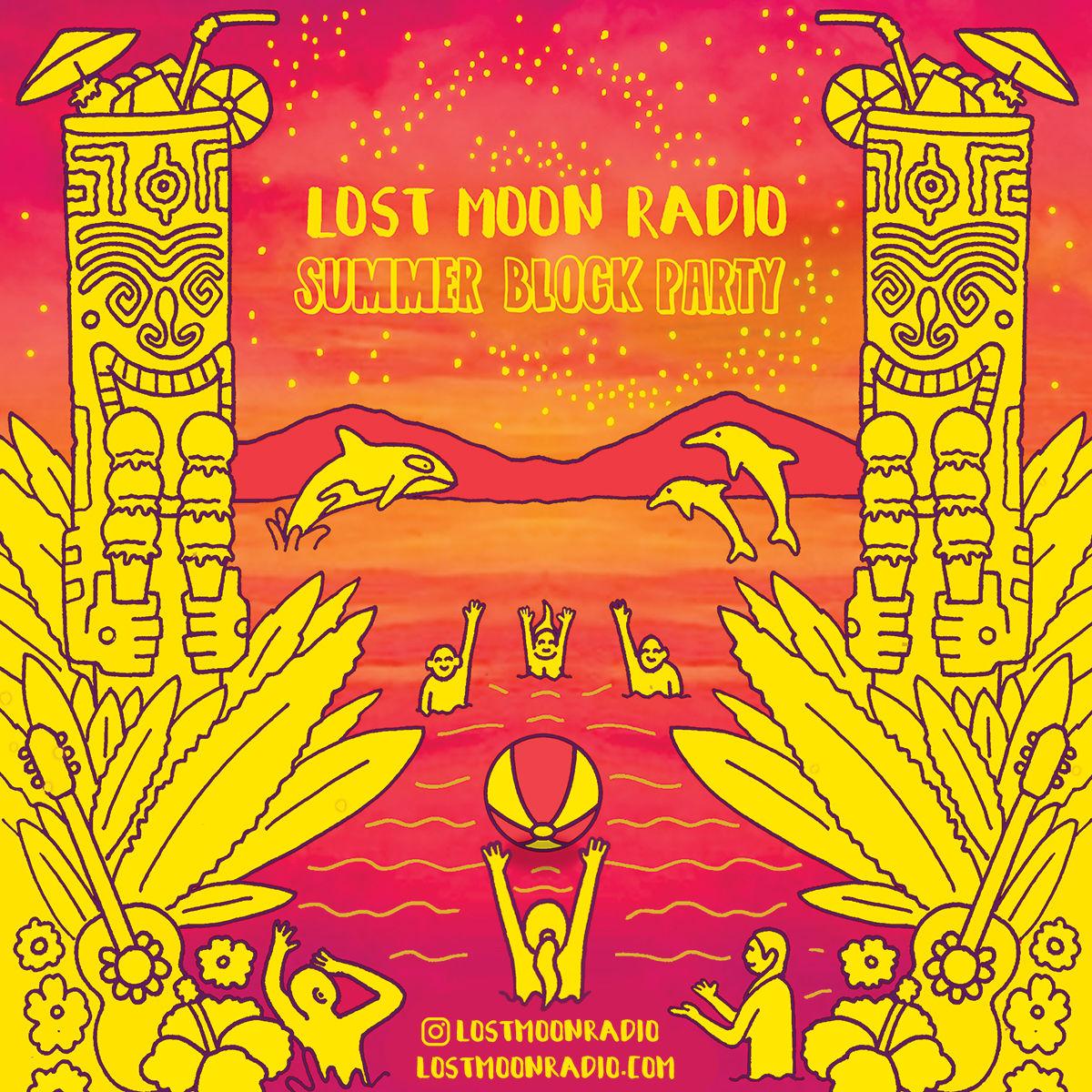 Lost Moon Radio Summer Block Party image 1