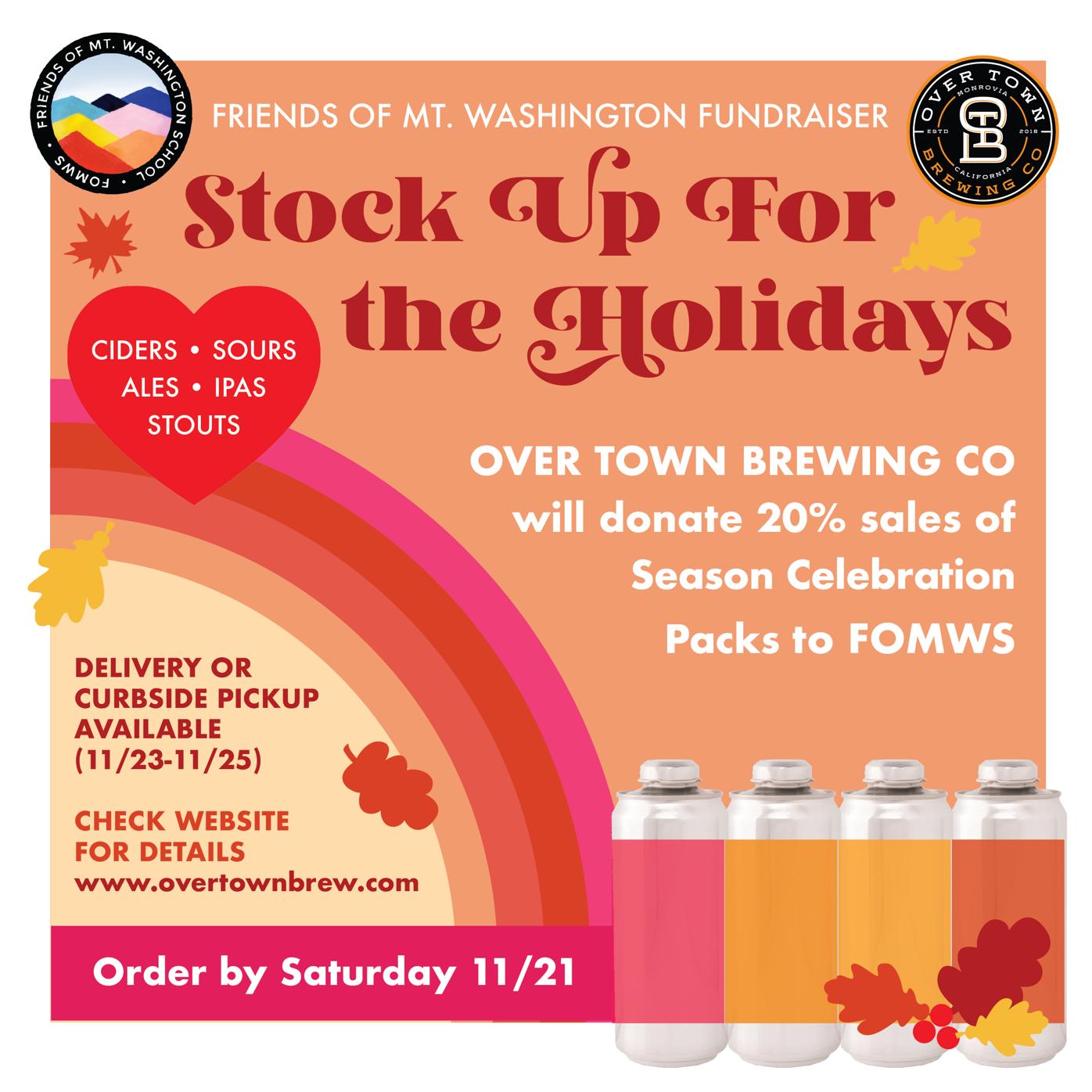 Mount Washington School Fundraiser: stock up for holidays image 1