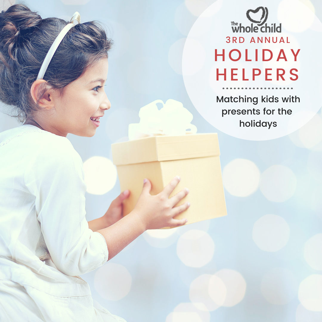 The Whole Child's Holiday Helpers Program Brightens Children's Lives image 1