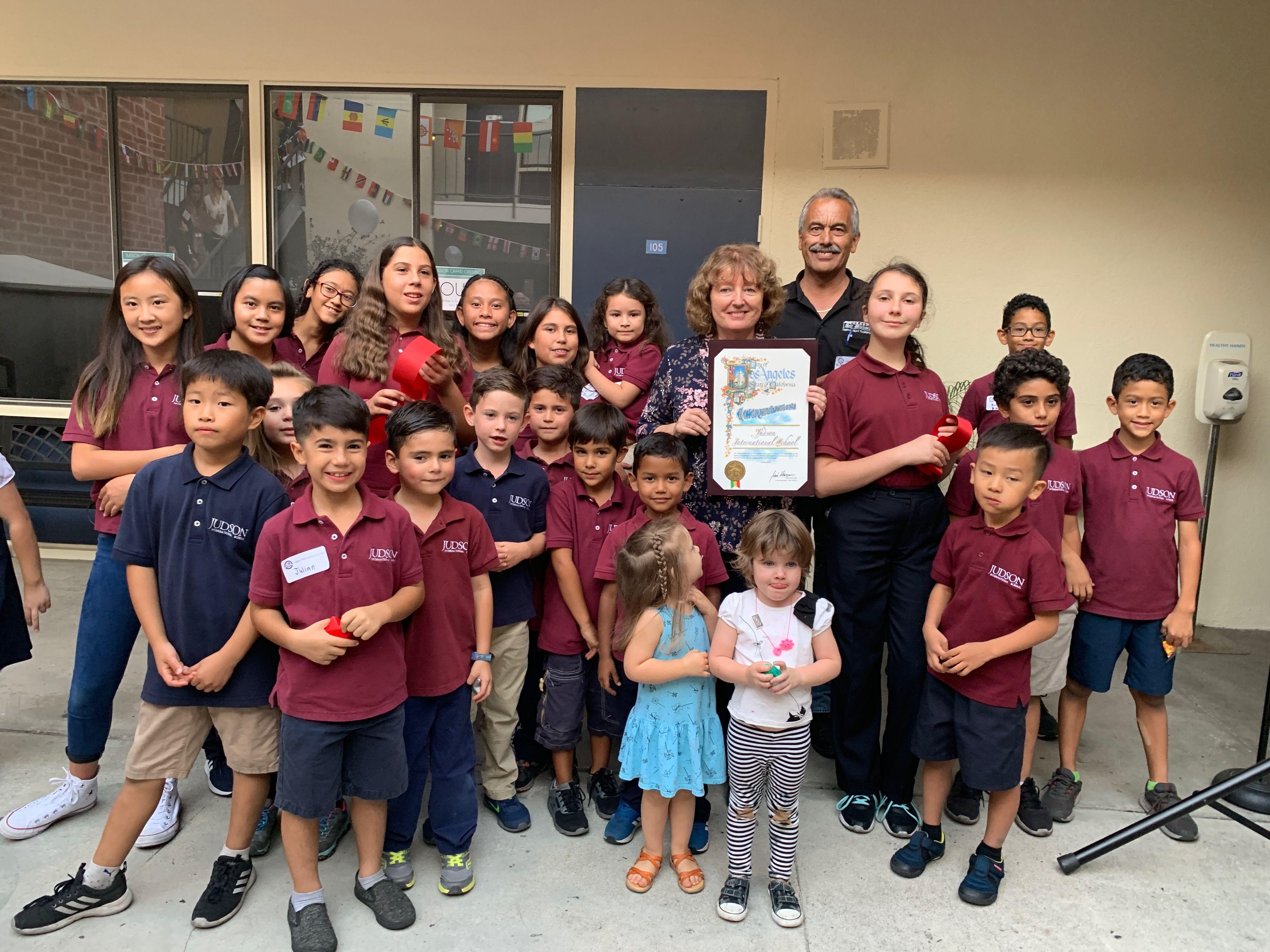 Eagle Rock Grand Opening for Judson International School image 2