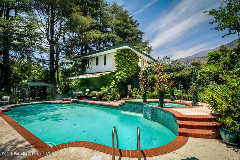 Relax in Tranquil Indoor-Outdoor Living in this Custom-Built Altadena Homestead image 1